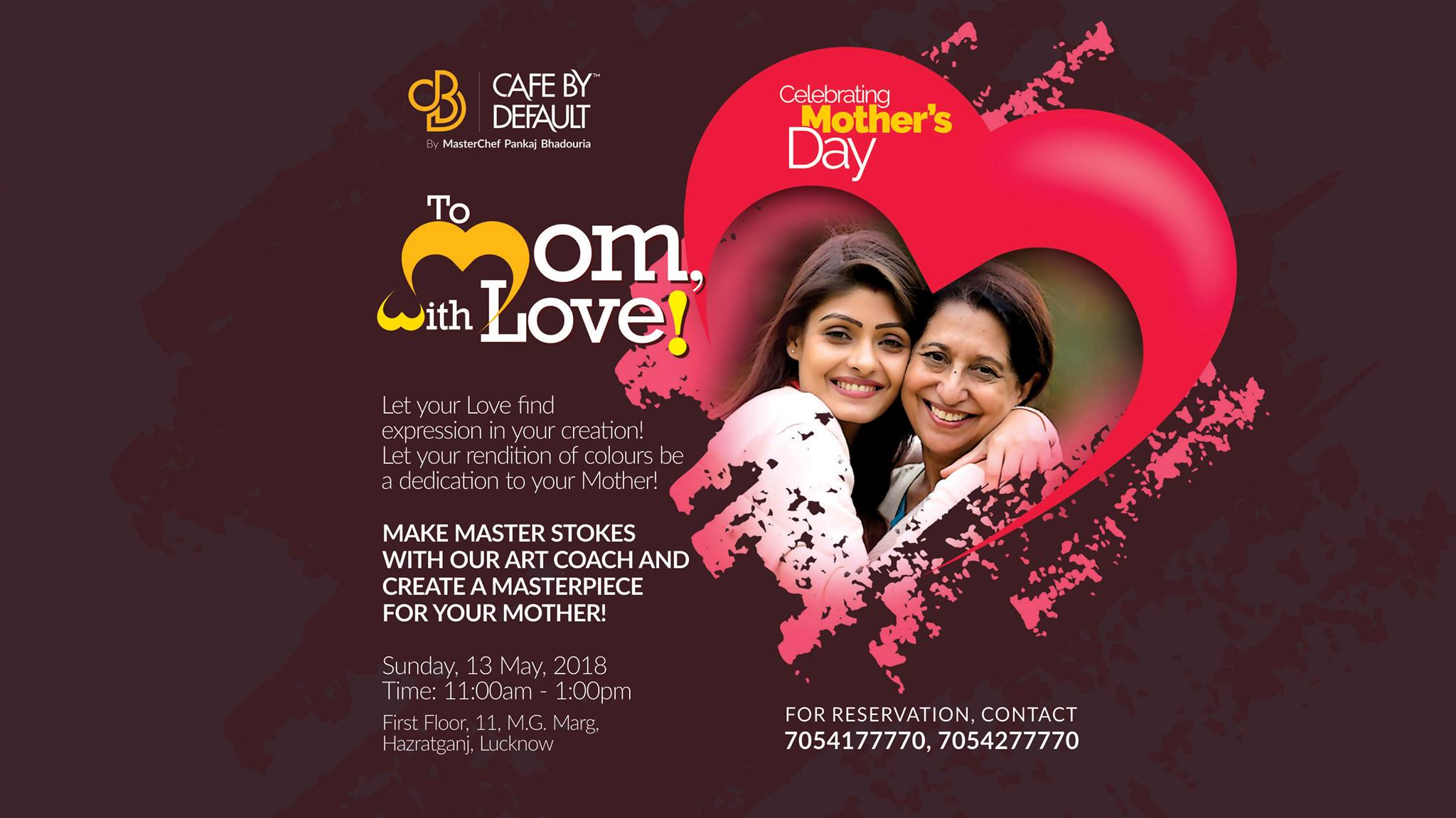 To Mom, With Love ! - CBD event